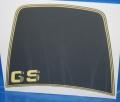 Aufkleber R80GS R100GS -90 Windschild schwarz/gelb +GS Basic