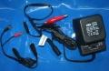 Ladegerät Batterie mit Klemmen 6V+12V 500mA