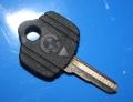 Schlüsselrohling Klapp 9/80-  schwarz